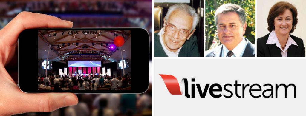 homenagem em live streaming