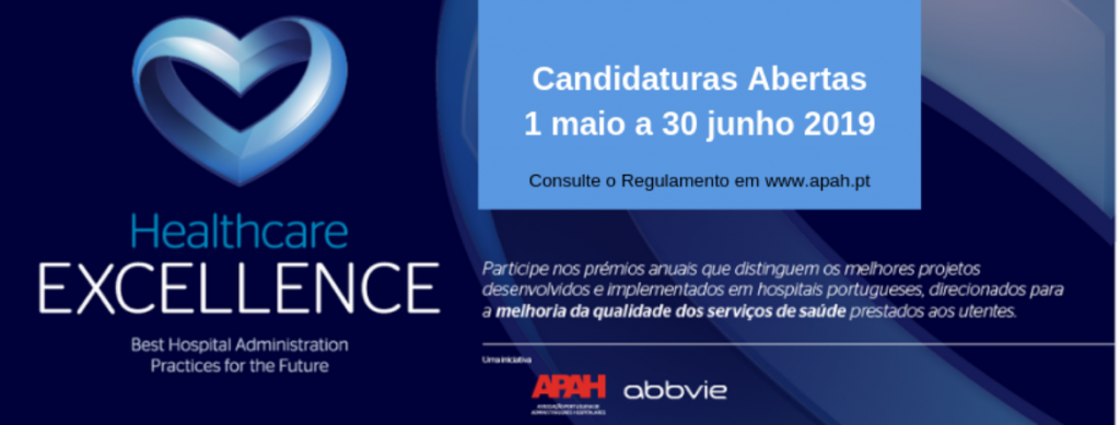 Prémio Healthcare Excellence 2019