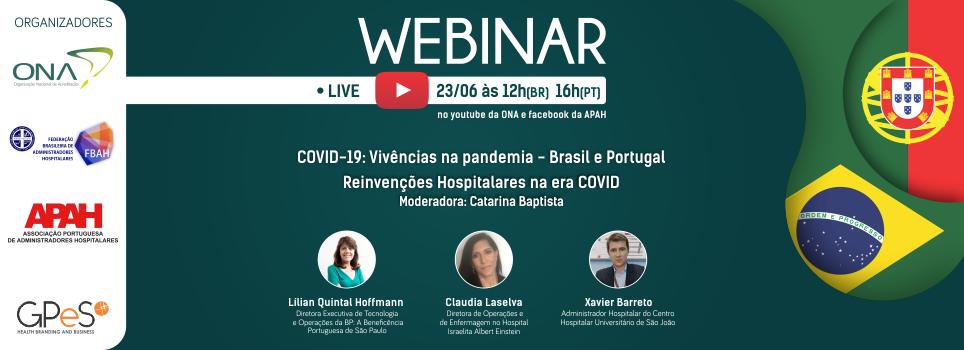 Brasil e Portugal reorganização hospitalar