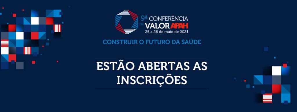 9.ª Conferência Valor APAH - Inscrições abertas
